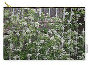 Wild Caraway And Old Fence Carry-all Pouch