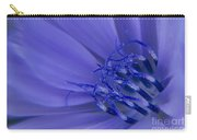 Wild Chicory Macro Carry-all Pouch