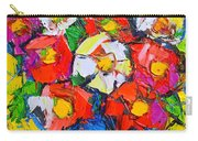 Wild Colorful Flowers Carry-all Pouch