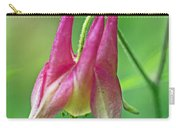 Wild Columbine Wildflower - Aquilegia Canadensis Carry-all Pouch