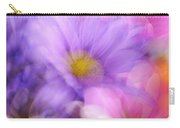 Wild Crazy Daisy Abstract Carry-all Pouch
