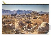 Wild Donkeys Carry-all Pouch