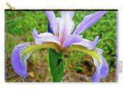Wild Flag - Iris Versicolor Carry-all Pouch