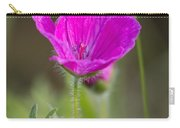 Wild Flower Bloody Geranium Carry-all Pouch
