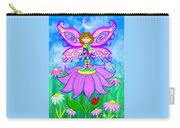 Wild Flower Fairy  Carry-all Pouch