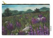 Wild Flower Field Carry-all Pouch