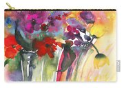 Wild Flowers Bouquets 02 Carry-all Pouch