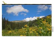 Wild Flowers In Rocky Mountain National Park Carry-all Pouch