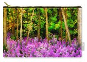 Wild Forest Violets Carry-all Pouch
