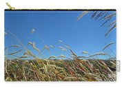 Wild Foxtail Grass In The Breeze II Carry-all Pouch
