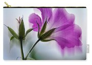 Wild Geranium Abstract Carry-all Pouch