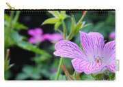 Wild Geranium Flowers Carry-all Pouch