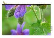 Wild Geranium II Carry-all Pouch