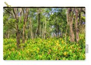 Wild Ginger And Ohia Trees Carry-all Pouch