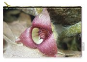 Wild Ginger Flower - Asarum Canadense Carry-all Pouch
