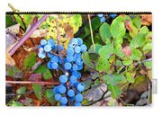 Wild Grapes Carry-all Pouch