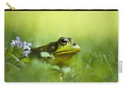 Wild Green Frog Carry-all Pouch