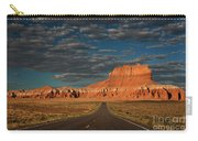 Wild Horse Butte And Road Goblin Valley Utah Carry-all Pouch