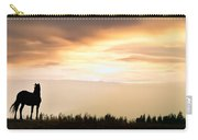 Wild Horse Sunset Carry-all Pouch