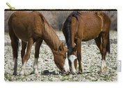 Wild Horses Grazing  Carry-all Pouch