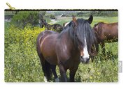 Wild Horses In California Series 4 Carry-all Pouch