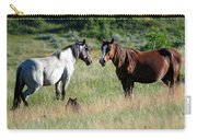 Wild Horses In Medora Carry-all Pouch