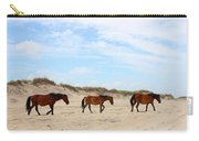 Wild Horses Of Corolla - Outer Banks Obx Carry-all Pouch
