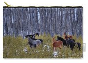 Wild Horses Of The Ghost Forest Carry-all Pouch