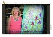 Wild Iris Collage At Glasshopper Gifts Show Carry-all Pouch