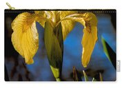 Wild Iris Carry-all Pouch by Robert Bales