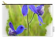 Wild Larkspurs Carry-all Pouch