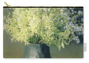 Wild Lilacs And Forget Me Nots Carry-all Pouch by Isaak Ilyich Levitan