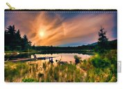 Wild Maine Woods In Baxter State Park Carry-all Pouch