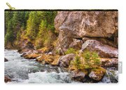 Wild Mountain River Carry-all Pouch