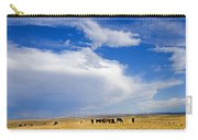 Wild Mustang Herd Grazing Carry-all Pouch