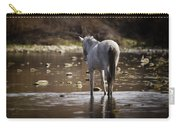 Wild Mustang On The River  Carry-all Pouch