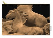 Wild Mustang Statue I I I Carry-all Pouch