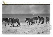 Wild Mustangs Of Shackleford Carry-all Pouch