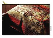 Wild Mustangs On A Quilt Carry-all Pouch by Barbara Griffin
