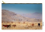 Wild Nevada Mustang Herd Carry-all Pouch