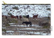 Wild Nevada Mustangs Carry-all Pouch