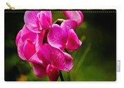 Wild Pea Flower Carry-all Pouch by Robert Bales