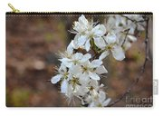 Wild Plum Blooms Carry-all Pouch