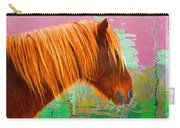 Wild Pony Abstract Carry-all Pouch