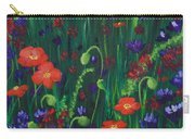Wild Poppies Carry-all Pouch