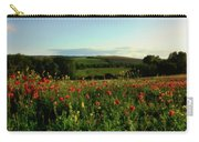 Wild Poppies Growing In A Field, Wylye Carry-all Pouch
