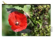 Wild Poppy Carry-all Pouch