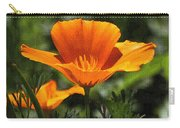 Wild Poppy On The Loose Carry-all Pouch