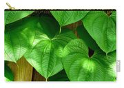 Wild Potato Vine Carry-all Pouch