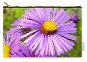 Wild Purple Asters Carry-all Pouch